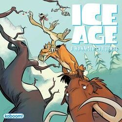 IceAgeChristmasComicBook