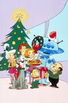 A Jetson Christmas Carol promotional picture