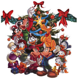 MickeyAndFriendsXmasTree