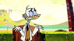 Ludwig Von Drake in Duck the Halls