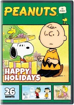 Peanuts by Schulz Happy Holidays DVD