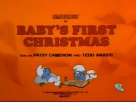 Baby's First Christmas (The Smurfs)