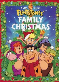 Flintstone Family Christmas storybook