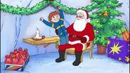 Horrid Henry with Santa