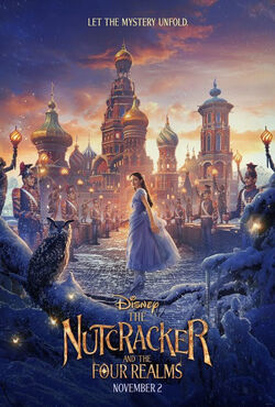 Nutcracker and the four realms movie poster 2