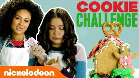 Gingerbread Cookie Challenge w Daniella & Lilimar TryThis
