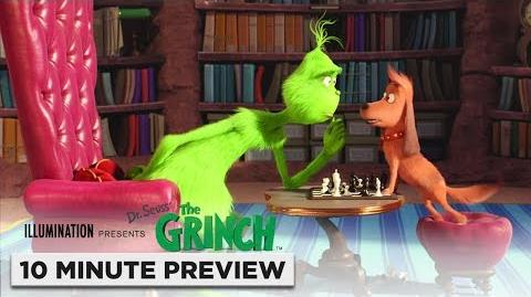 Illumination's The Grinch 10 Minute Preview Film Clip Now on Digital. 2 5 on 4K, Blu-ray & DVD