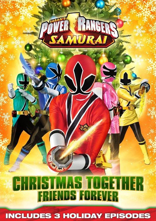 Image - PowerRangerSamurai Christmas DVD.jpg | Christmas Specials ...