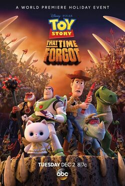 Toy Story That Time Forgot Poster