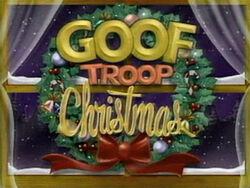 Goof Troop Christmas Title Card