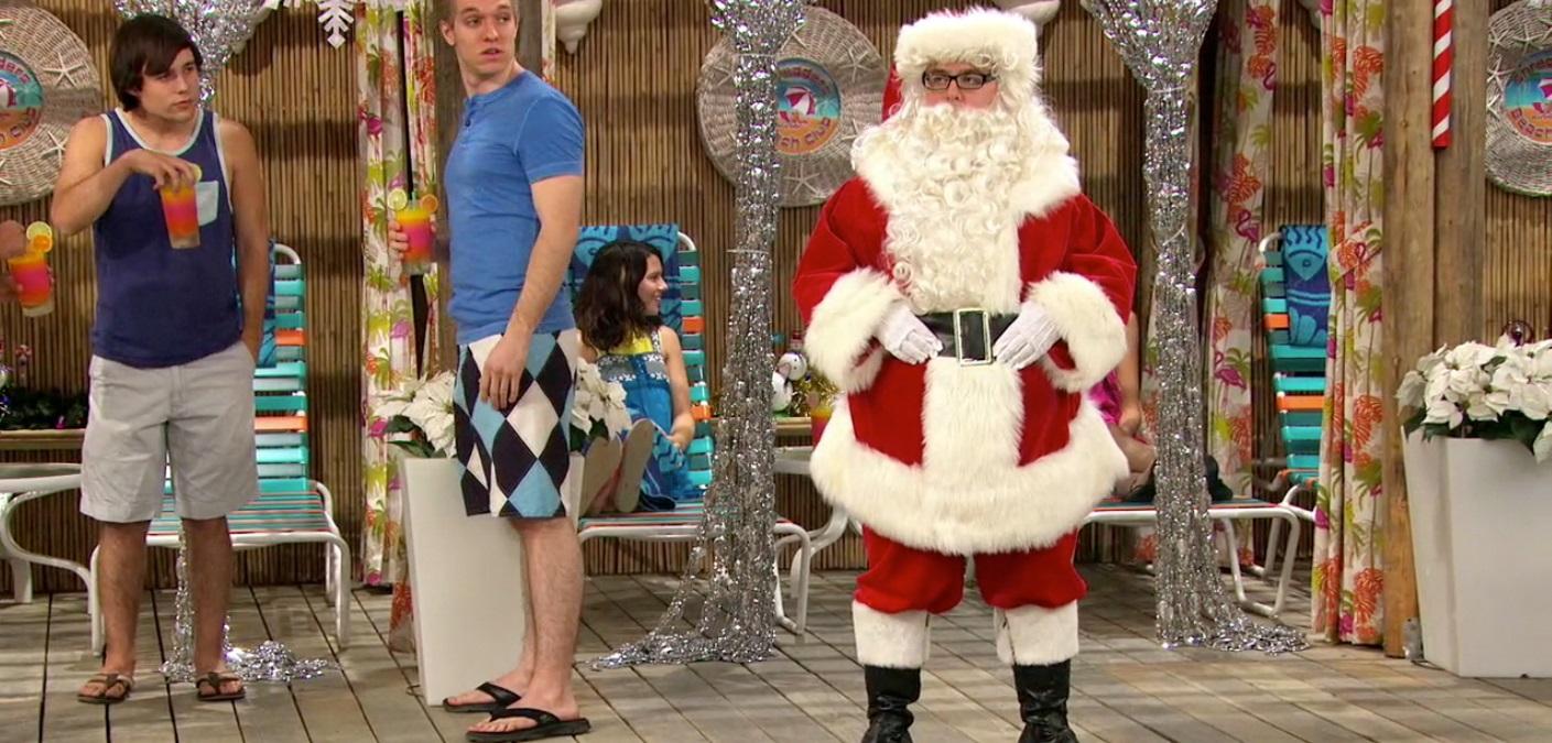 A&A 3-5; Chuck as Santa Claus