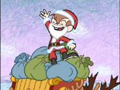 Rudy as Santa