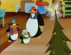 Avenger Penguins Christmas
