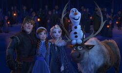 Olaf's Frozen Adventure Screenshot