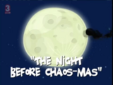 The Night Before Chaos-mas