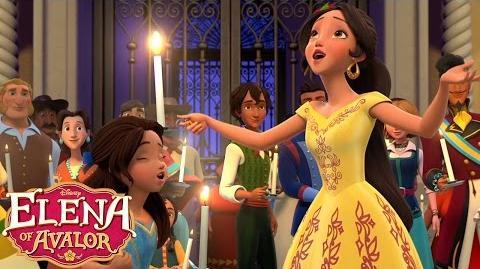 Let Love Light The Way Music Video Elena of Avalor Disney Junior