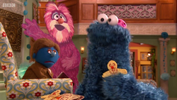 Cookie Monster MMD