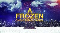 A Frozen Christmas Carol 2018 title