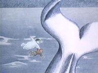 Snowman-whale