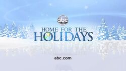ABC Home for the Holidays logo