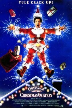 NationalLampoonsChristmasVacation Poster