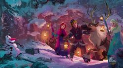 Olaf's Frozen Adventure Concept art