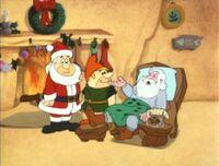 Santa picks Fred to fill in