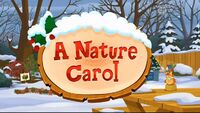 A Nature Carol (Found from My Cable Spectrum)