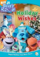 Blue's Room Holiday Wishes DVD