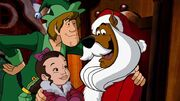 Scooby as Santa again