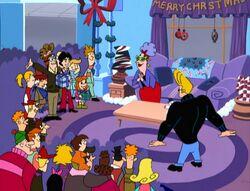 Johnny Bravo Christmas group shot