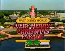 WDW ChristmasParade 1986