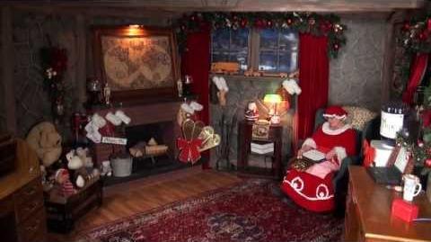 Santa Snooper Webcam Video 008- Sneaky, Naughty Santa!