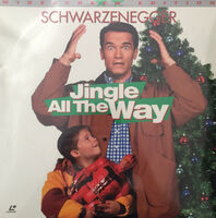 Jingle all the Way Laserdisc