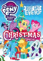 MLP Best Gift Ever DVD Cover