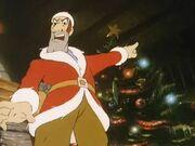 Texas Pete as Santa