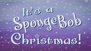 Its a SpongeBob Christmas Title