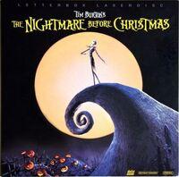 NightmareBeforeXmas Laserdisc 1994
