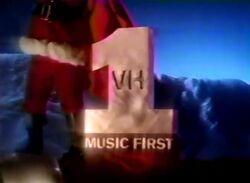 VH1 Music First Christmas Logo