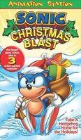 SonicChristmasBlast VHS 2003