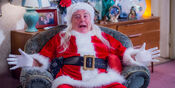 Mrs. Brown's Boys Grandad as Santa