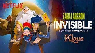 Zara Larsson 'Invisible' Official Lyric Video (Klaus) Netflix