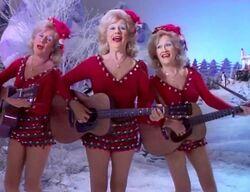 Del Rubio Triplets sing Winter Wonderland