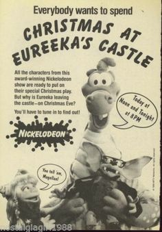 Christmas at Eureeka's Castle print ad