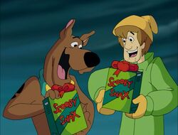 Shaggy-Scooby Christmas Scooby-Snacks