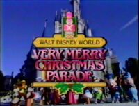 WDW ChristmasParade 1985