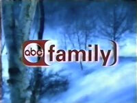 ABC Family Christmas logo from 2001