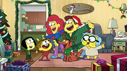 Big City Greens Christmas group shot