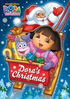 Dora the Explorer Dora's Christmas 2009 DVD