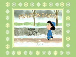 Peace on Earth from Lucy